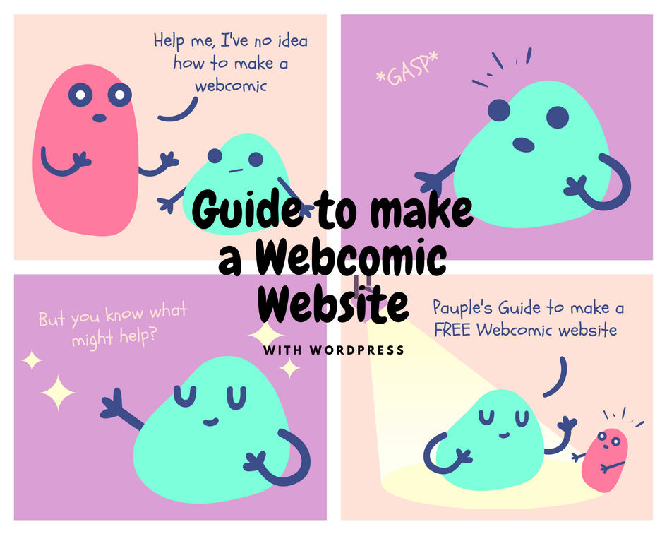 How to make your own webcomic website with WordPress